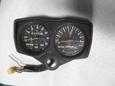 KAWASAKI AR80 INSTRUMENT PANEL SPEEDOMETER TACHOMETER METERS  GAUGES NICE!