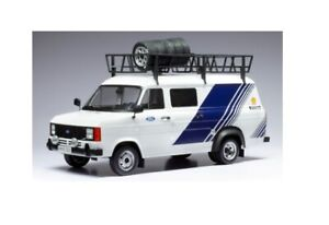 Ixo Model - Ford Transit  MK II   Team Ford  1/18