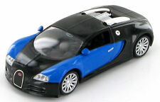Bugatti Veyron Black/Blue 16.4 1:43 Budget Model