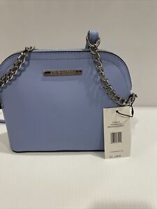 New STEVE MADDEN Women's BMAGGIE CROSSBODY PERIWINKLE Handbag Purse  DT204410