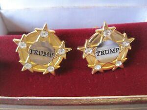 Rare Trump Organization Cufflinks, Not Sold in Stores