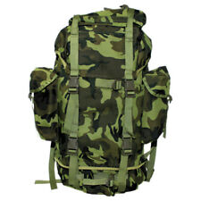 BW Army Combat Rucksack Military Backpack Hiking Travel Pack 65l Czech Woodland