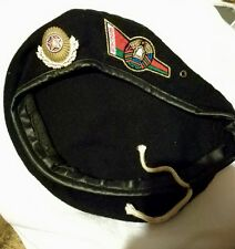 Belarus Army beret paratrooper military camo soviet union Russia uniform CCCP
