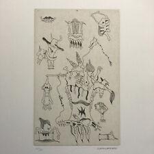 Camacho/ J. Mansour — Faire signe au machiniste — 5 eaux-fortes Soleil noir 1977