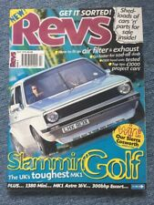 Revs Magazine Issue 1 1996 Super Rare MAX POWER