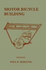 Motor Bicicleta edificio 1906 Hasluck Vintage Motocicleta Libro Guía pionero temprano