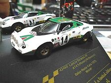 LANCIA Stratos HF Rallye Monte Carlo Winner 1975 #14 Munari Alital Vitesse 1:43