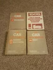 1986 FORD LINCOLN MERCURY SHOP MANUAL SET SERVICE BOOKS MUSTANG T-BIRD & MORE