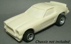 Resin HO SLOT CAR scale Ford Mustang II funny car new tooling for 2021
