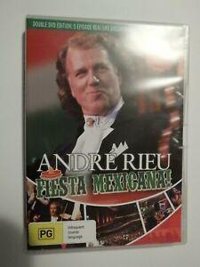 Andre Rieu Fiesta Mexicana 2 Disc Set DVD Concert + Documentary GOOD CONDITION