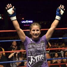 Tecia Torres first MMA fight Walkout Shirt, UFC INVICTA REVGEAR TUSSLE KNUCKLEUP