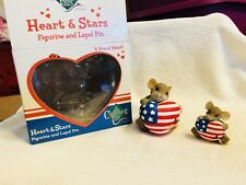 "Charming Tails ""A Proud Heart"" Dean Griff Nib 2 Piece Set"