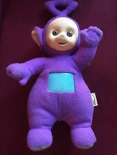 Vintage Teletubbies Tinky Winky Talking Purple Plush Doll 1998 Hasbro/Playskool