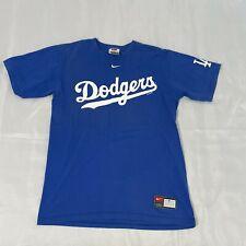 Vintage 2005 Nike Team Apparel Los Angeles Dodgers Adult Small Blue Casual