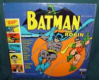 BATMAN AND ROBIN RECORD, 33 LP, 1966, TIFTON AUDIO SERIES, 78002, THEME SONG