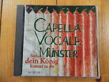 Capella vocale Münster regarde, ton roi viendra à toi Musicom CD rar!