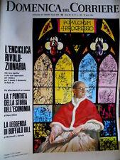 Domenica del Corriere 16 1967 Leggenda di Buffalo Bill. Storia economia C49