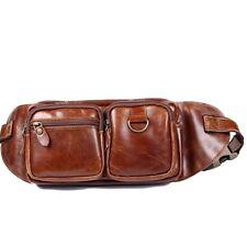 Man Waist Pack Man Hip Sack Hip Bag Man Belt Bag Man Bag Genuine Leather BLE0144