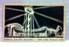 General Electric Building 1939 World's Fair Postcard