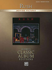 RUSH - NEIL PEART - MOVING PICTURES DRUM SONG BOOK NEW
