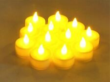 Flameless LED  Tealight Candles Tea Light Candle 12pcs Battery-powered