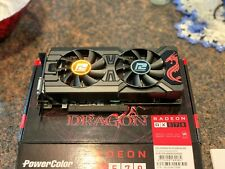 PowerColor RX 570 Red Dragon Radeon Graphic Cards Lightly Used