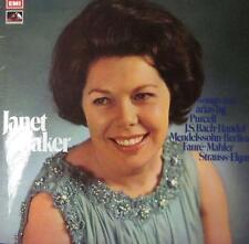 Janet Baker(Vinyl LP)Songs and Arias-HMV/EMI- SEOM 8-UK-Ex/M