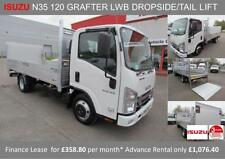 Dropside Commercial Vans & Pickups with Tail Lift