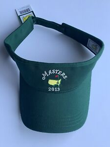 2013 Masters golf visor low rider style adam scott wins pga new