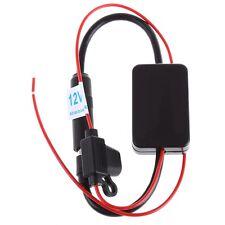 Hot Universal Auto Car Antenna Aerial Radio FM AM Signal Amp Amplifier Booster