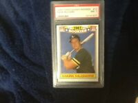 Two 1988 topps glossy MARK MCGWIRE ROOKIE CARD x2