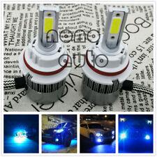 9004 HB1 55W 8000K ICE BLUE 8000LM CREE LED Headlight Bulbs Kit High Low Beam
