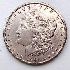 1901-S Morgan Silver Dollar 90% Silver $1 Coin Us #Oc31