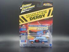 JOHNNY LIGHTNING DEMOLITION DERBY 1965 CHEVY CHEVELLE WAGON VS. A REL 3