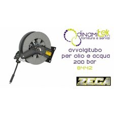 ZECA 8442 Avvolgitubo per Olio e Acqua 200 bar - Grigio