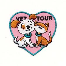 Girl Boy Cub VET TOUR Fun Patches Crests Badge SCOUTS GUIDE Visit Veterinarian
