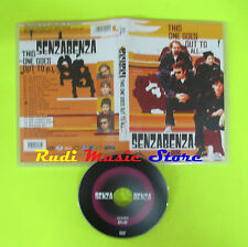 DVD SENZABENZA This one goes out to all 2004 DVD ITALIA  mc lp vhs cd(DM1)