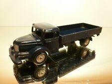 MARKLIN 8009 KRUPP FLATBED TRUCK - BLUE - GOOD REPAINTED CONDITION