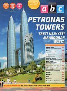 Skyscraper  Petronas Towers Czech Paper Model 1 : 1750