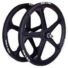 ACS 5 Spoke Mag Composite 20 x 1.75 Wheel Set BMX (Black)
