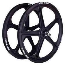 ACS 5 Spoke Mag Composite 20 x 1.75 Wheel Set BMX (Black)