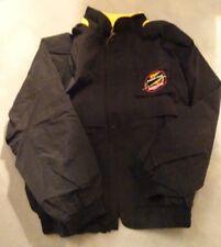 NEW OLD STOCK, Miller Genuine Draft Mens Windbreaker Jacket XL BLACK-IN PKG.