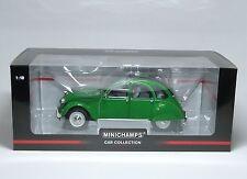 """Citroen 2CV 1976 """"Ente"""" - grün green vert verde grön - Minichamps 150111502 1:18"""