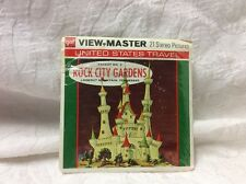 21 View Master Stereo Pictures Rock City Gardens, Lookout Mountains, Tennessee