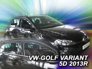 Wind deflectors for VW GOLF VII VARIANT 2013 - 2020 ONLY REAR 2.pc HEKO 31195-T