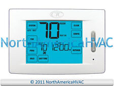 Ctc 84210T 5/2 7 Day Touchscreen Programmable Thermostat 4H/2C 4 3 Heat 2 Cool