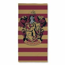 Harry Potter 'Muggles' Printed Beach Bath Towel Gryffindor 100% Cotton Official