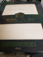 Royal Palms Spa Collection (Ivory) King Sheet Set