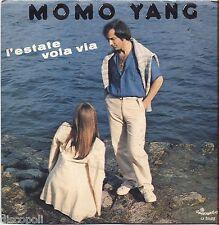 "MOMO YANG - L'estate vola via - VINYL 7"" 45 LP 1981 ITALY NEAR MINT COVER VG+"