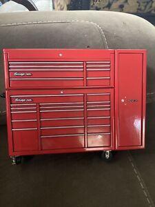Very Nice Snap-On Tools Red Micro Mini Tool Box